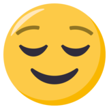 Relieved Face on EmojiOne 3.0