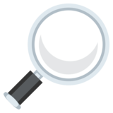 Magnifying Glass Tilted Right on JoyPixels 3.0