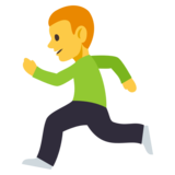 Person Running on JoyPixels 3.0