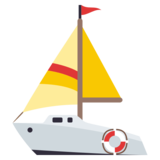 Sailboat on JoyPixels 3.0