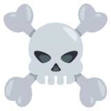 Skull and Crossbones on EmojiOne 3.0
