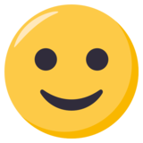 Slightly Smiling Face on EmojiOne 3.0