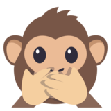 Speak-No-Evil Monkey on EmojiOne 3.0