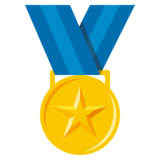 Sports Medal on JoyPixels 3.0
