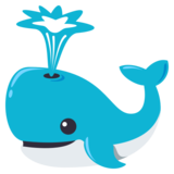 Spouting Whale on JoyPixels 3.0