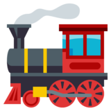 Locomotive on JoyPixels 3.0