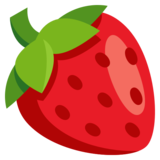 Image result for strawberry emoji