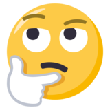 Thinking Face on EmojiOne 3.0