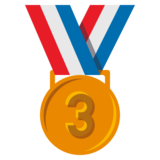 3rd Place Medal on JoyPixels 3.0