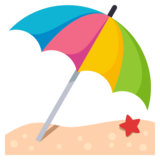 Umbrella on Ground on JoyPixels 3.0