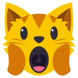 Weary Cat Face on EmojiOne 3.0