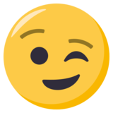 Winking Face on EmojiOne 3.0