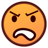 Angry Face on emojidex 1.0.33