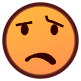 Anguished Face on emojidex 1.0.33