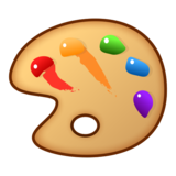 Artist Palette on emojidex 1.0.33
