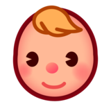 Baby: Medium-Light Skin Tone on emojidex 1.0.33