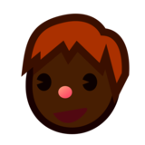 Boy: Dark Skin Tone on emojidex 1.0.33