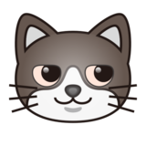 Cat Face With Wry Smile on emojidex 1.0.33