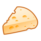 Cheese Wedge on emojidex 1.0.33