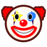 Clown Face on emojidex 1.0.33