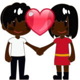 Couple With Heart, Type-6 on emojidex 1.0.33