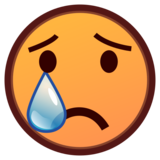 Crying Face on emojidex 1.0.33