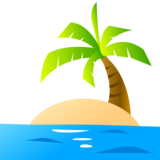 Desert Island on emojidex 1.0.33