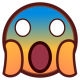 Face Screaming in Fear on emojidex 1.0.33