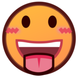Face with Tongue on emojidex 1.0.33