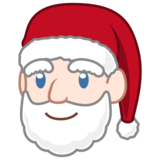 Santa Claus: Light Skin Tone on emojidex 1.0.33