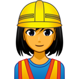 Woman Construction Worker on emojidex 1.0.33