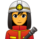 Woman Firefighter on emojidex 1.0.33