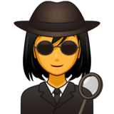 Woman Detective on emojidex 1.0.33