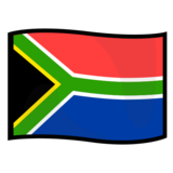 Flag: South Africa on emojidex 1.0.33