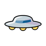 Flying Saucer on emojidex 1.0.33