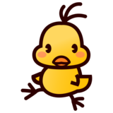 Front-Facing Baby Chick on emojidex 1.0.33