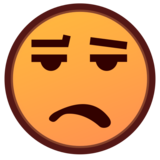 Frowning Face With Open Mouth on emojidex 1.0.33