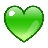 Green Heart on emojidex 1.0.33