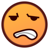 Grimacing Face on emojidex 1.0.33