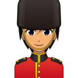 Guard: Medium Skin Tone on emojidex 1.0.33