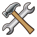 Hammer and Wrench on emojidex 1.0.33