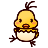 Hatching Chick on emojidex 1.0.33