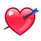 Heart with Arrow on emojidex 1.0.33
