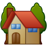 House with Garden on emojidex 1.0.33