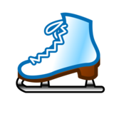 Ice Skate on emojidex 1.0.33
