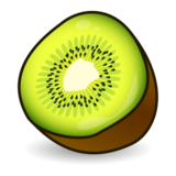Kiwi Fruit on emojidex 1.0.33
