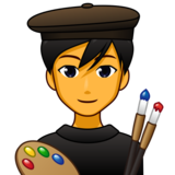 Man Artist on emojidex 1.0.33