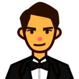 Person in Tuxedo on emojidex 1.0.33