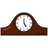 Mantelpiece Clock on emojidex 1.0.33