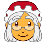 Mrs. Claus on emojidex 1.0.33